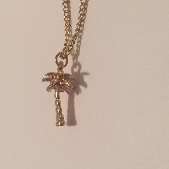 77d4da72f03 Jewelry   Choker Necklace Vacation Palm Tree Resort Style   Poshmark